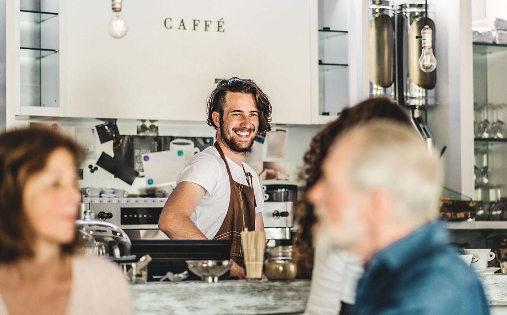 Cafélounge Galerie Harlekin